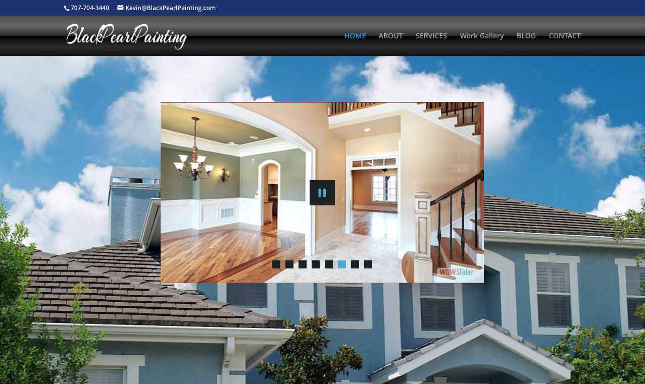 Painting Company Business Websites | By PalGeek