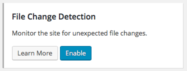 File Change Detection iTheme Security