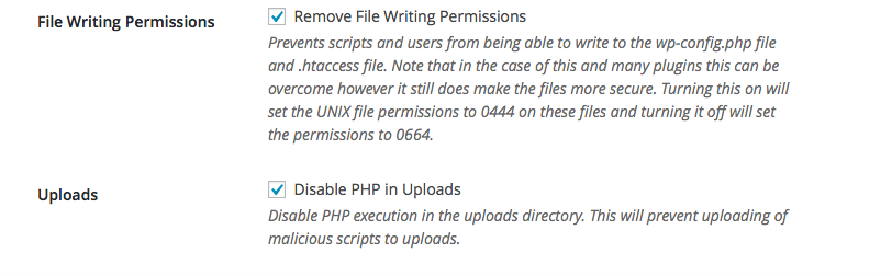 System Tweaks File Protection iTheme Security
